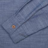 Fleurs de Bagne Blue Chambray Classic Shirt