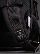 Master-Piece Potential V2 Leather Trim Backpack - Black