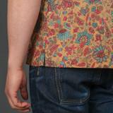 3sixteen Handblock Floral Leisure Shirt - Sand