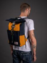 Master-Piece Link Rolltop Backpack - Navy