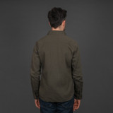 UES Slub Yarn Selvedge Work Shirt - Olive