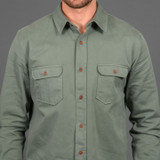 Indigofera Alamo Shirt - Dry Sage