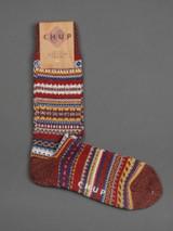 Chup Socks - Firande - Brick