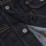Pure Blue Japan x Rivet & Hide 17.5oz Extra Slub Denim Jacket - Type II
