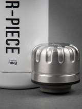 Master-Piece x Thermo Mug Umbrella Bottle - White