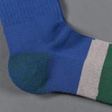 Stevenson Overall Co. Athletic Socks - Blue