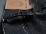 Dawson Denim Wide Tapered Selvedge Jeans - Natural Indigo