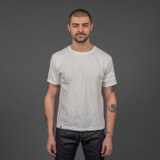 Momotaro MT302 Zimbabwe Cotton T Shirts - White - Stripe