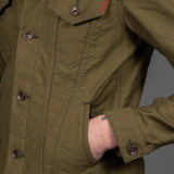 Iron Heart Olive Whipcord Modified Type III Jacket