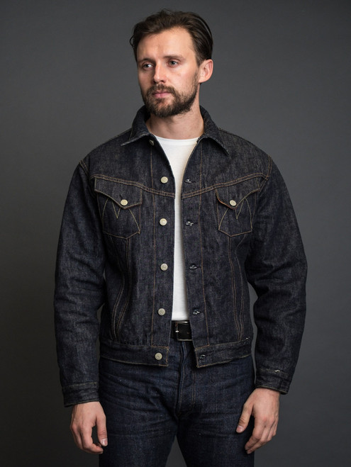 Mister Freedom Rodeo Cowboy Jacket - Okinawa Denim