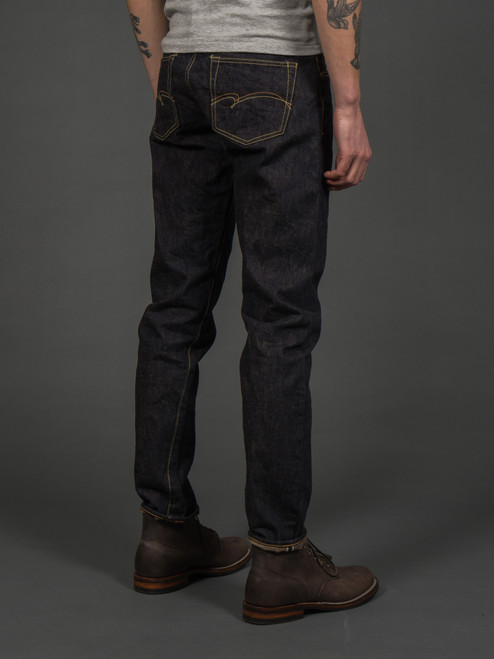 Studio D'Artisan FOX-001 Selvedge Jeans - Relaxed Tapered