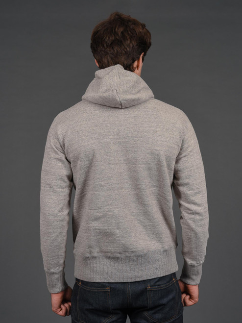 Studio D'Artisan Loopwheeled Hoodie - Heather Grey