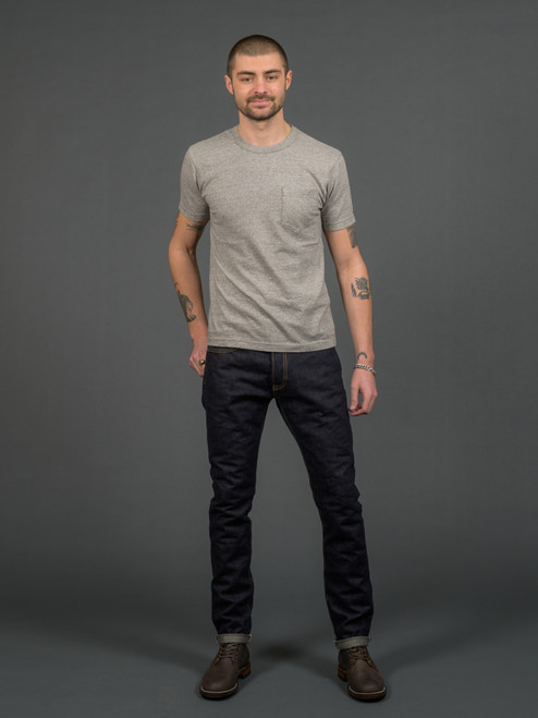 IH-555S-142 Super Slim 14 Oz Selvedge Jeans