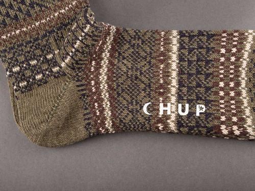 Chup Socks - Fukube - Moss