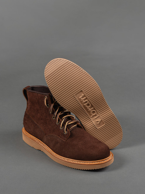 Viberg Scout Boot - Mocha Oil Tan Roughout