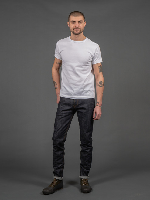 3sixteen NT-100x Narrow Tapered Indigo Selvedge Jeans