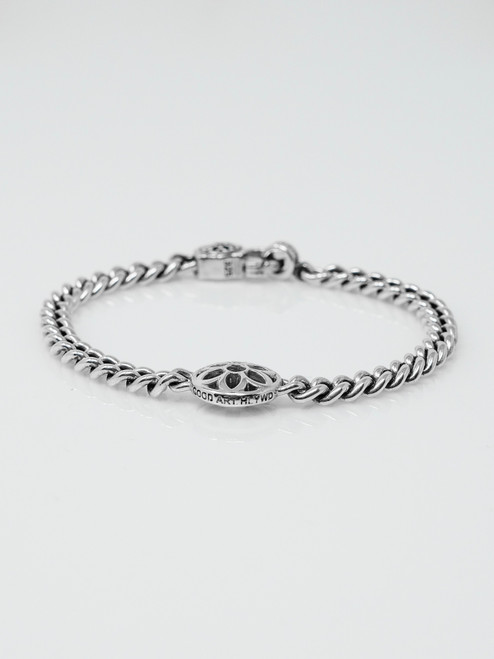 Good Art Sterling Silver Tea Cakes Rosette Bracelet