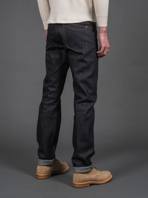 Stevenson Overall Cinch Back Coloma Jeans - Straight