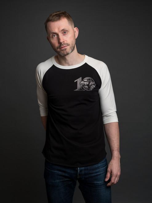 Indigofera Leon Raglan 10th Anniversary T Shirt