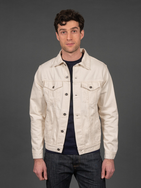 3sixteen Type 3 Natural Denim Trucker Jacket