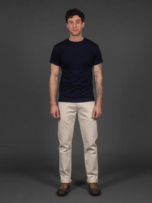 3sixteen Natural Denim Selvedge Chinos