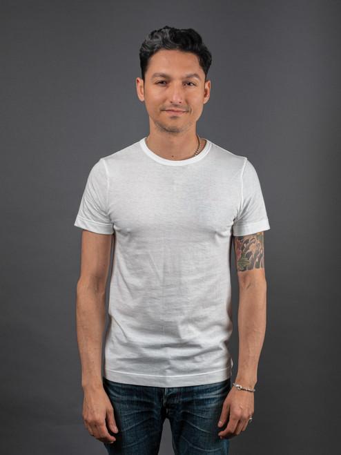 Merz b. Schwanen 1950s Organic T-Shirt - White