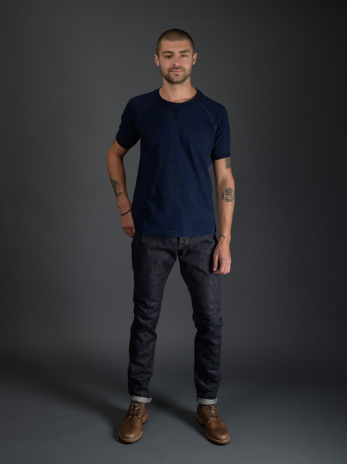 Pure Blue Japan NP-019 Nep Selvedge Jeans - Relaxed Tapered