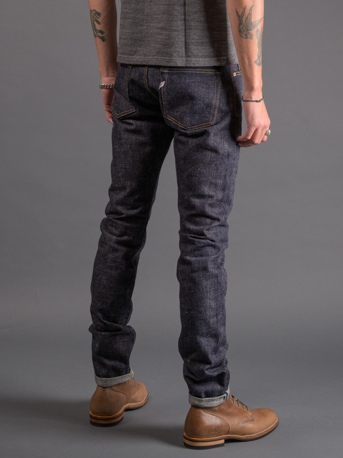 Pure Blue Japan SLB-013 Slub Denim Jeans