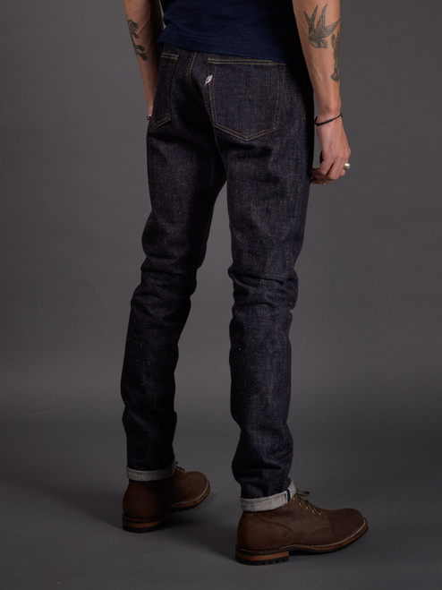 Pure Blue Japan SLB-019 Slub Denim Jeans