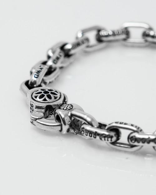 Good Art Sterling Silver Bear Link #1 Bracelet