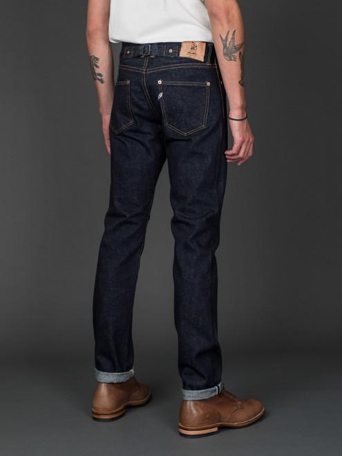 Pure Blue Japan 1160 Cinch Back Jeans