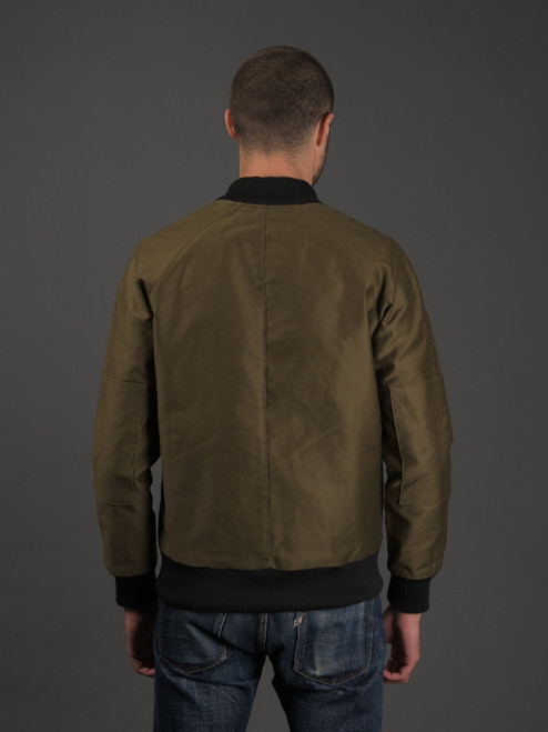 Rogue Territory Jungle Cloth Flight Jacket - Olive