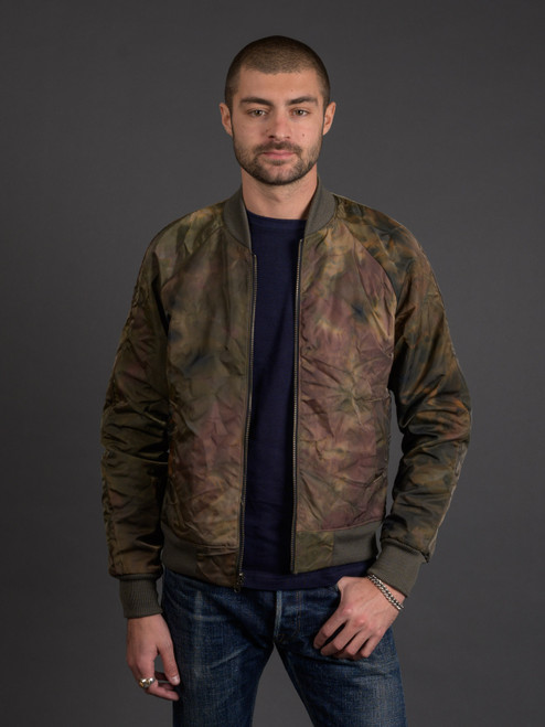 3sixteen Oil Camo Reversible Bomber Jacket