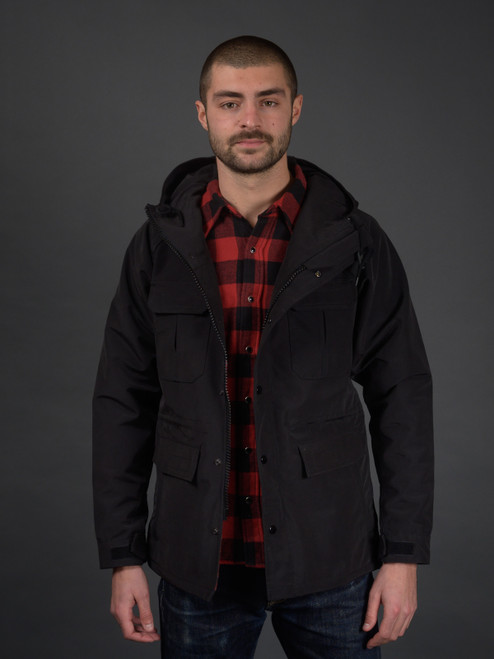 Iron Heart Tech Mountain Parka - Black