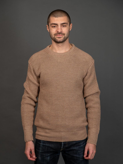 """Nine Lives """"Knit Flows Like Water"""" Sweater - Sand"""