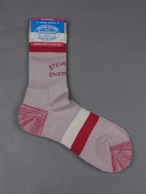 Stevenson Overall Co. Athletic Socks - Grey