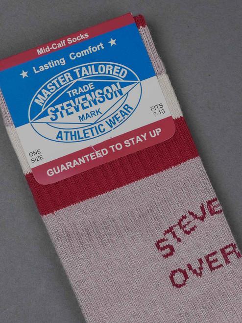Stevenson Overall Co. Athletic Socks - Grey