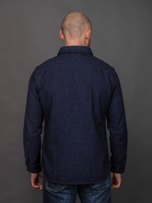 UES Extra Heavy Indigo Flannel