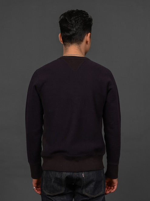 UES Puca Purcara Loopwheeled Sweatshirt - Navy