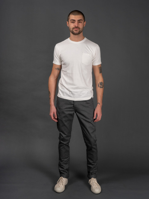 Rogue Territory Infantry Pants - Heather Grey Denim
