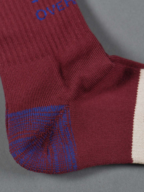 Stevenson Overall Co. Athletic Socks - Burgundy