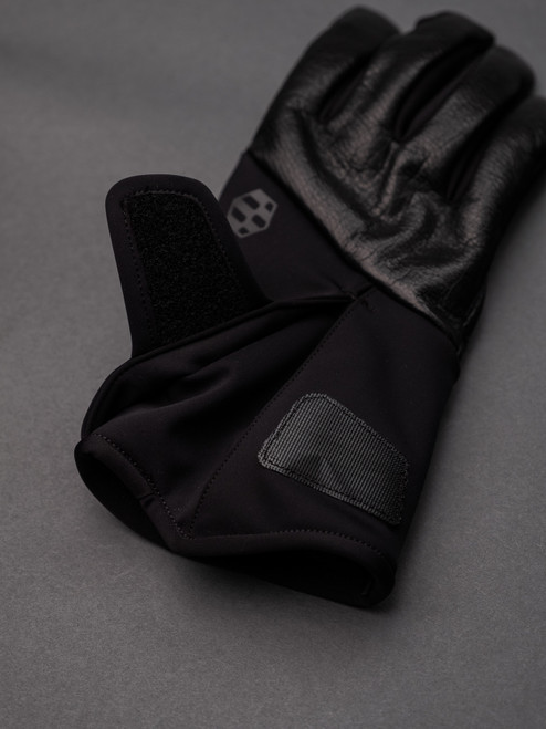 Handson Grip Kobe Leather WT Traverse Glove - Black