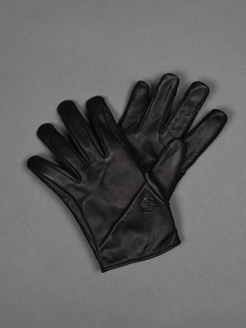 Handson Grip Kobe Leather Fam+ Glove - Black