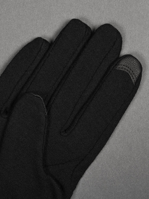 Handson Grip Merino Wool Hobo Glove - Black