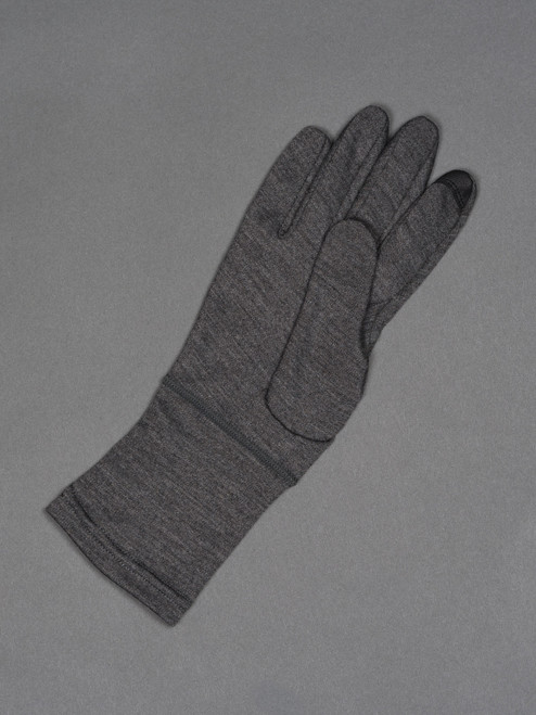 Handson Grip Merino Wool Hobo Glove - Grey Melange