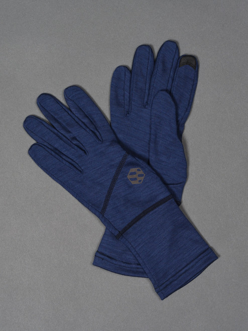 Handson Grip Merino Wool Hobo Glove - Navy