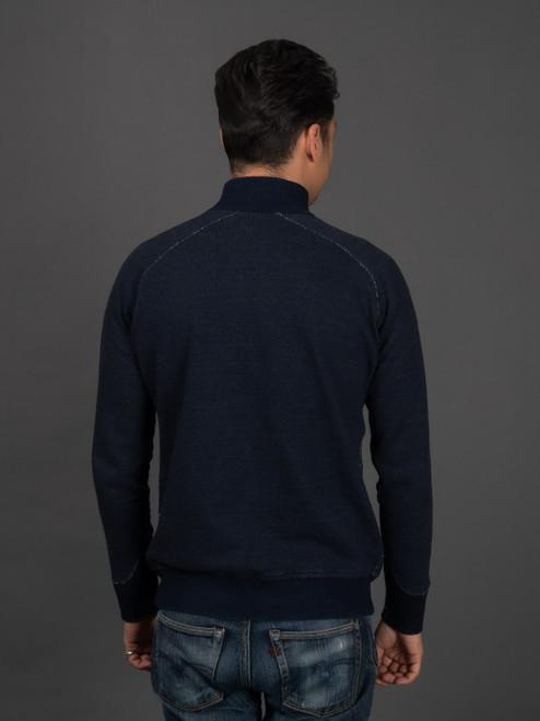 Pure Blue Japan Indigo Athletic Jacket