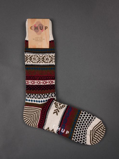 Chup Socks - Realta - Oatmeal