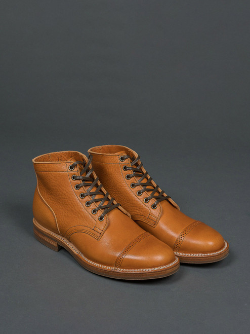 Viberg Service Boot - Japanese Natural Cowhide