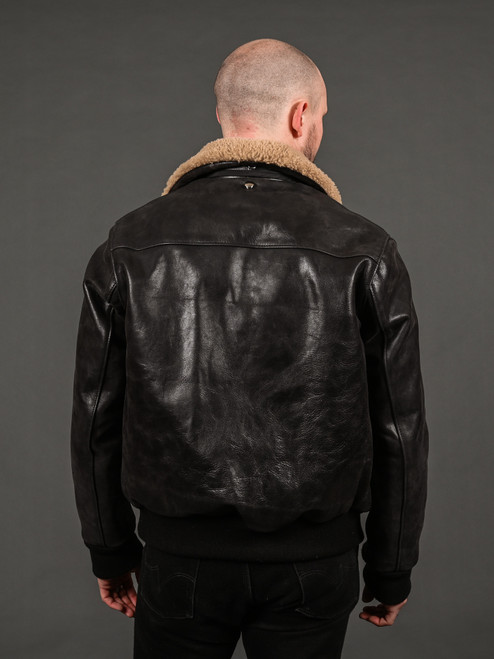 3sixteen x Schott Horsehide A2 Flight Jacket